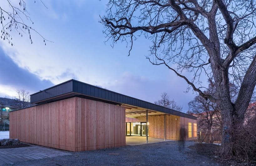 Centro Juvenil ECHO por puerstl langmaier architekten