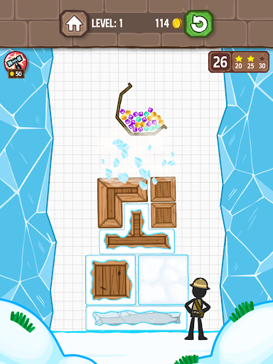 Catch the Treasure - Remove blocks 1.3.7 screenshots 9