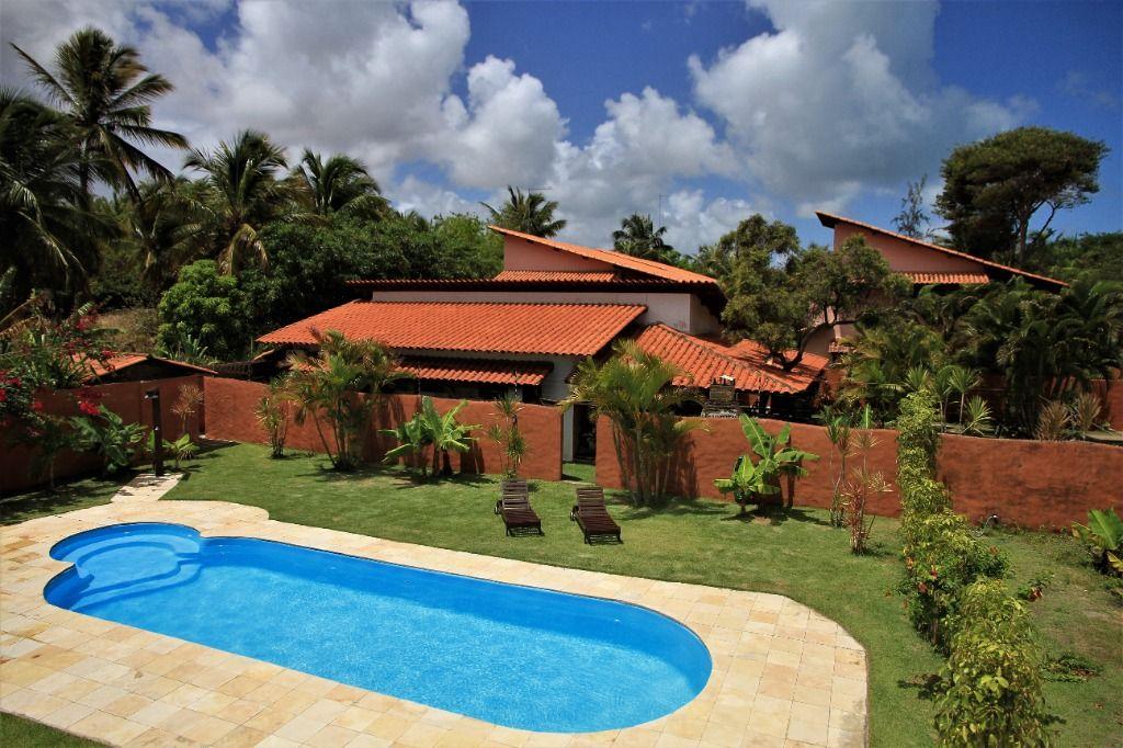 Casas das Gaivotas na Praia de Pipa, Tibau do Sul-RN. Pousada à venda com 8 casas mobiliadas de 2 dormitórios, piscina e estacionamento. 700m da Praia
