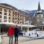 Zermatterhof Hotel in Zermatt, Valais, Switzerland