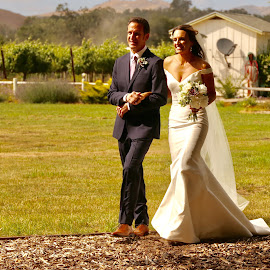Bride and father by Jeannine Jones - Wedding Other (  )
