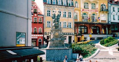 Photo: 11 mei. Tsjechië. Karlovy Vary (Karlsbad)