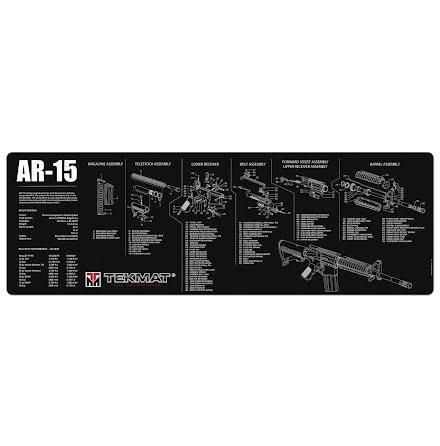 TekMat AR-15 Svart