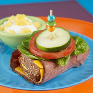 Inside Out Roast Beef Sandwich