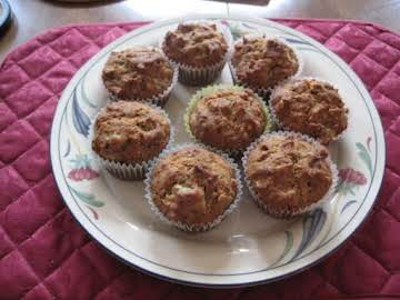 "YUMMY Banana,Walnut Muffins ""G.F"""