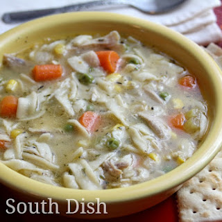Pressure Cooker Chicken Noodle Soup.