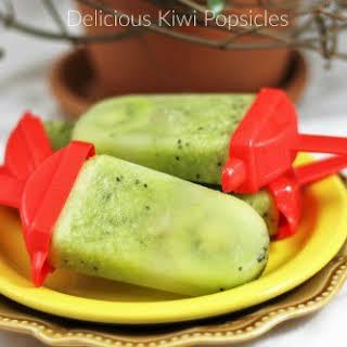 Kiwi Popsicles.