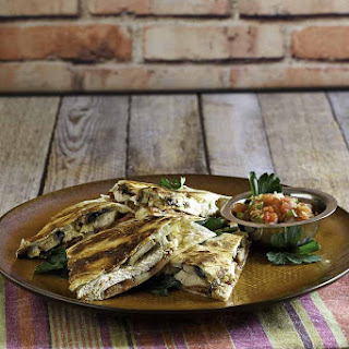 Outback Steakhouse Alice Springs Quesadilla.
