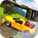 Offroad Hilux Pickup Truck Driving Simulator icon