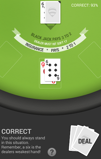 BlackJack Trainer - screenshot