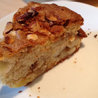 Mary Berry's American Apple and Apricot Cake.