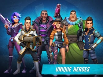 Heroes of Warland - Online 3v3 PvP Action APK screenshot thumbnail 7