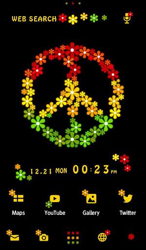壁紙無料-Flower Peace-きせかえ・アイコン