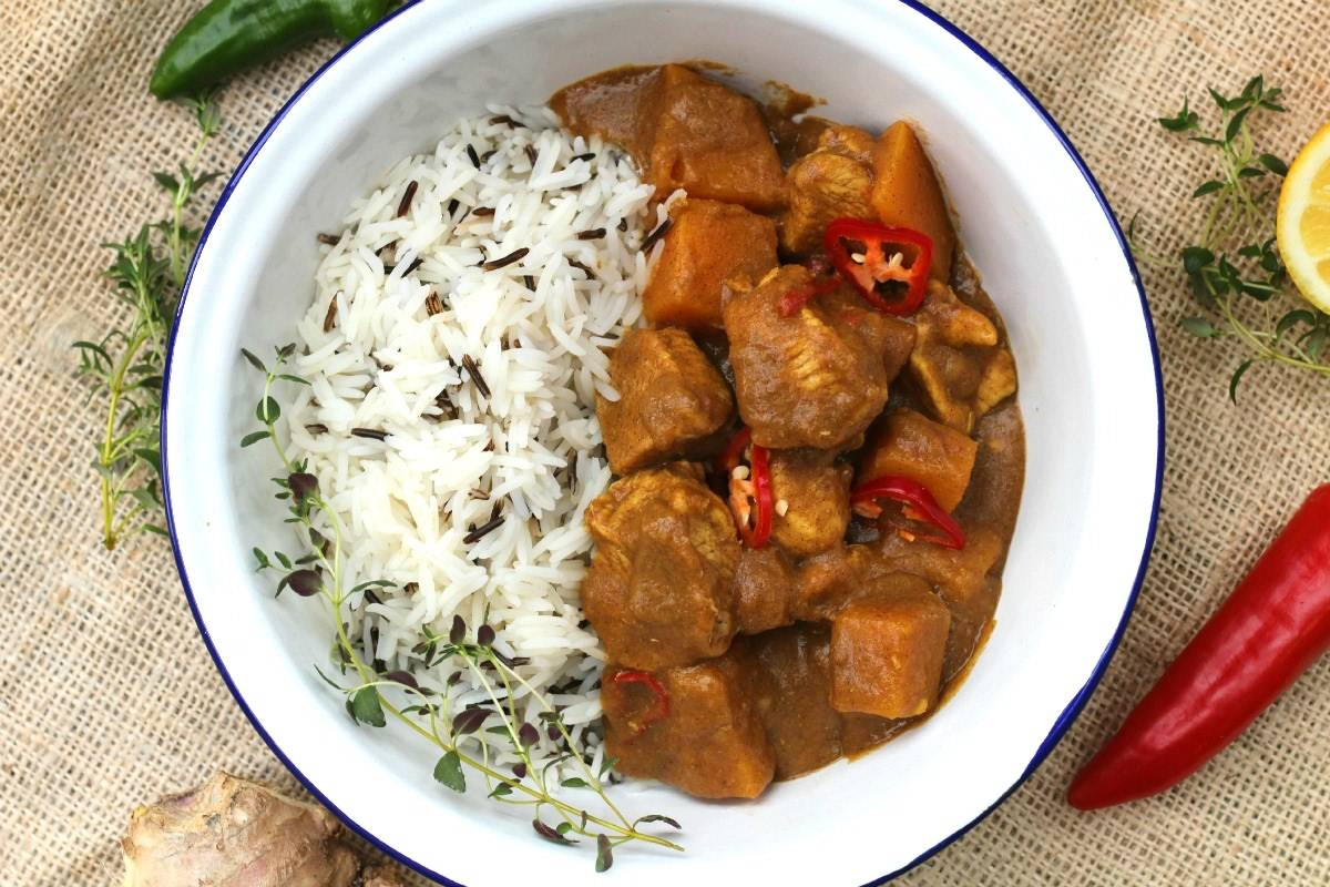 how to make jamaican curry chicken with coconut milk