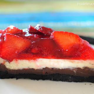 Strawberrylicious Chocolate Cheesecake
