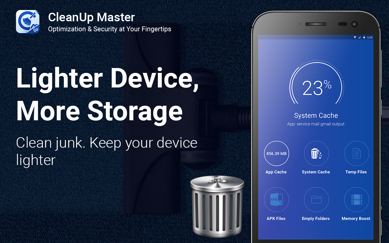 CleanUp Master 2017 - Junk Cleaner & Phone Booster- screenshot
