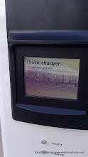 Photo: Quick charger display screen