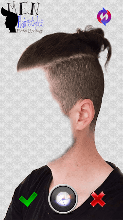 Men Hairstyles Photo Montage 3.0 screenshot 771471
