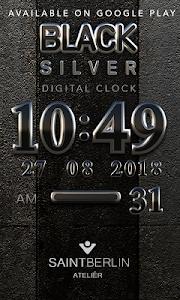 Icon Pack Black Silver 3D v1.0