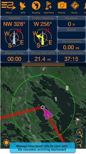 PathAway Express - Outdoor GPS– miniatyr av skärmdump