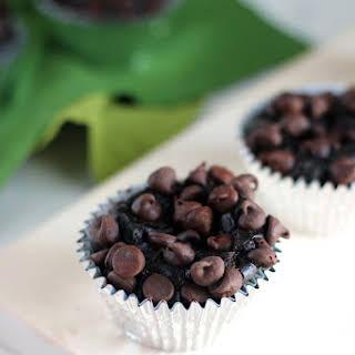 Dark Chocolate Avocado Muffins.