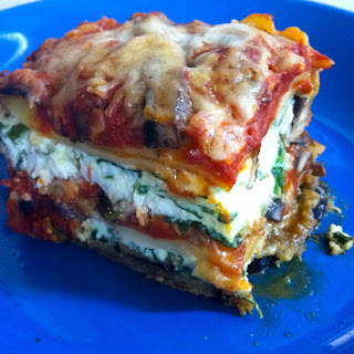 Eggplant and Mushroom Lasagna