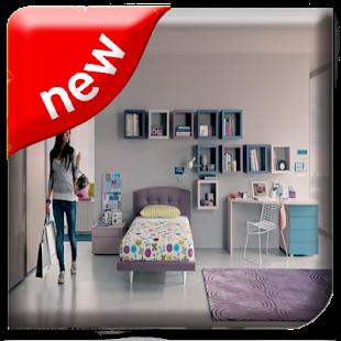 Teenage Minimalist Room - náhled
