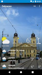 Debrecen - időjárás - náhled