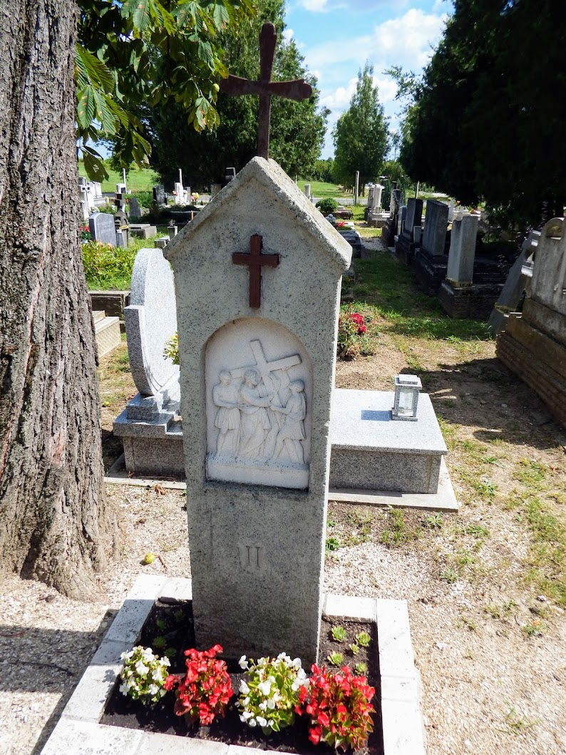 Pomáz - stációs keresztút a régi katolikus temetőben