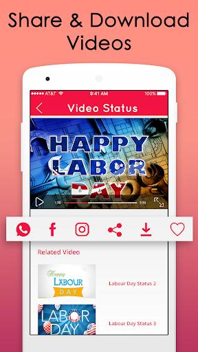 Labour Day Video Songs Status 2018 screenshot 4