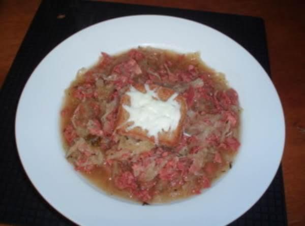 Reuben Soup Recipe