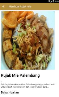 Resep Makanan khas Palembang - náhled