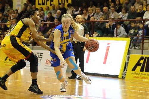 Fila San Martino - Lavezzini Basket Parma 73-59 (29-27)