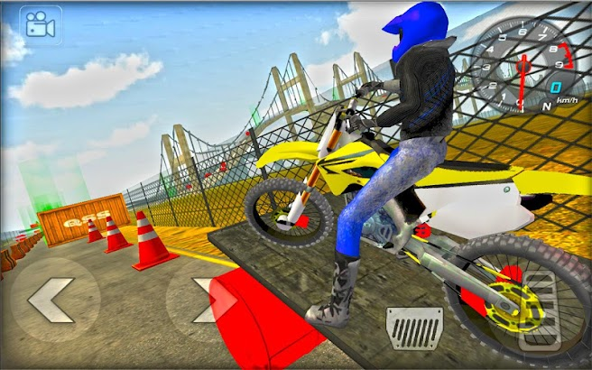Moto Madness Stunt Race Free- screenshot thumbnail