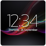 Digital Clock Widget Xperia Icon