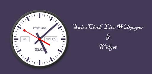 Swiss Clock Live Wallpaper Widgets Apps On Google Play