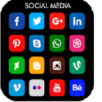 All social media and social network Icon