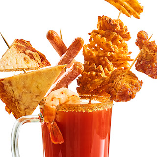 Extreme Bar Food Bloody Mary.