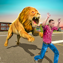 Angry Lion Sim City Attack icon