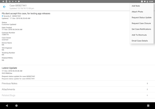 Cisco Technical Support screenshot 6