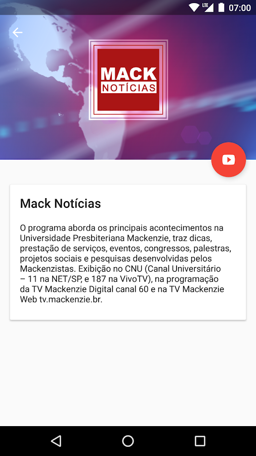 TV Mackenzie- screenshot