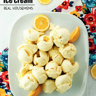 No Churn Lemon Meringue Pie Ice Cream.