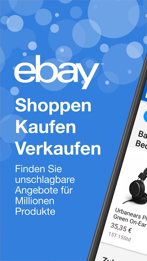 ebay kaufen verkaufen android apps auf google play. Black Bedroom Furniture Sets. Home Design Ideas