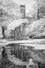Photo: Church & Lake, Arlington Court (Devon, UK) V2 (Clive Haynes)