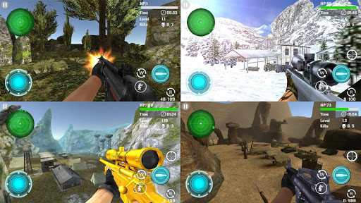 Mountain Sniper Shooting 1.4 screenshots 1