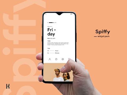 Spiffy kwgt Mod 4