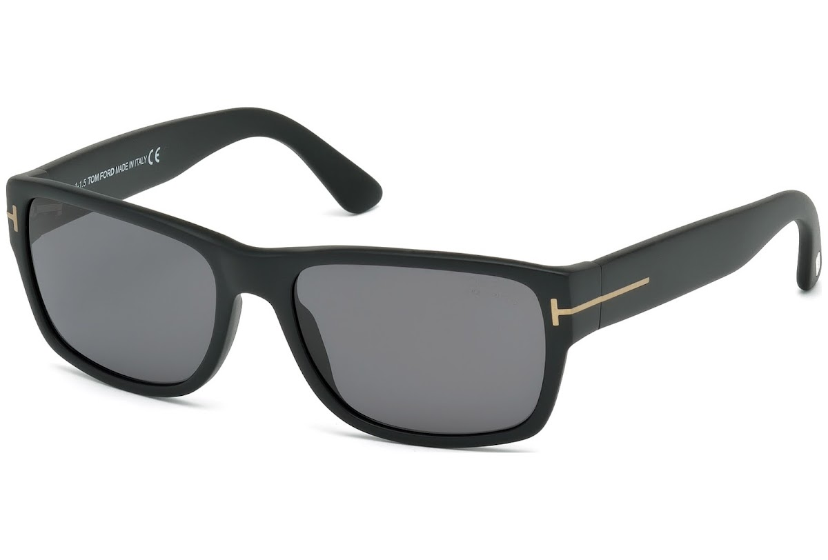 bc5c10c0aa Buy Tom Ford Mason FT0445 C58 02D (matte black   smoke polarized) Sunglasses