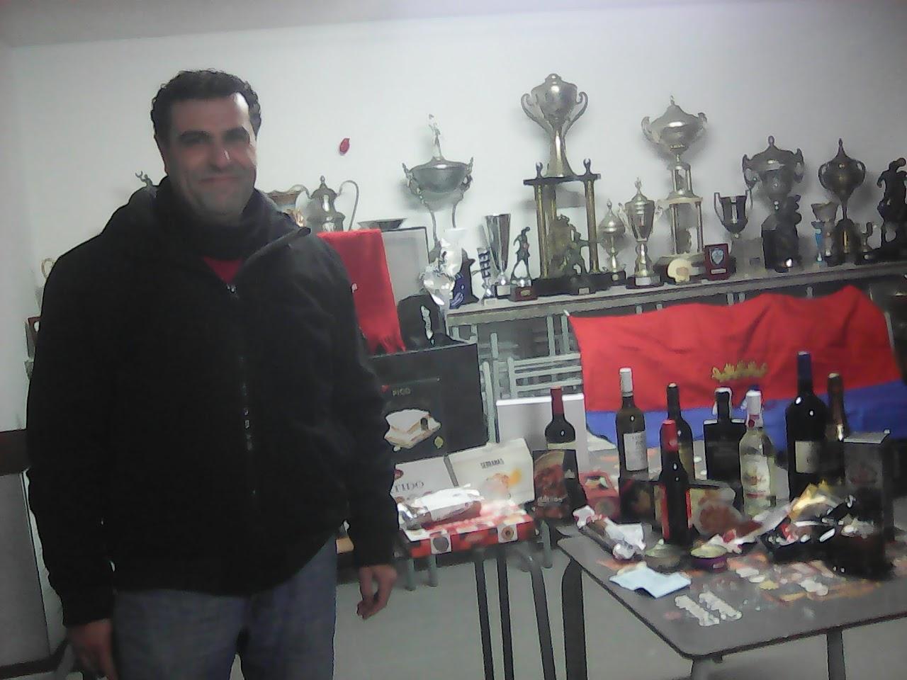 ADR Numancia de Ares. Cesta de Nadal 2016.