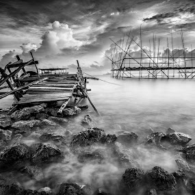 by Nauval Andika - Black & White Landscapes