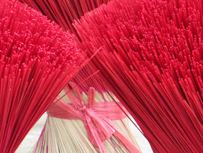 Photo: Year 2 Day 32 - Incense Sticks Drying